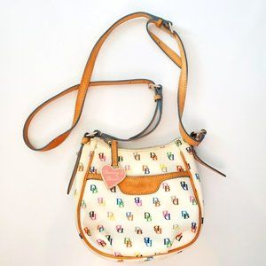 Dooney & Bourke Multicolor Mini Crossbody Bag.